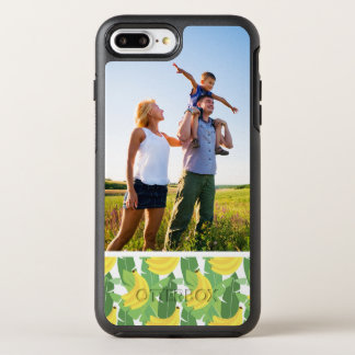 Photo Banana Leaves And Fruit Pattern OtterBox Symmetry iPhone 7 Plus Case