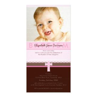 PHOTO BAPTISM INVITATIONS :: pure 2 Photo Cards