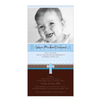 PHOTO BAPTISM INVITATIONS :: pure 5 Custom Photo Card