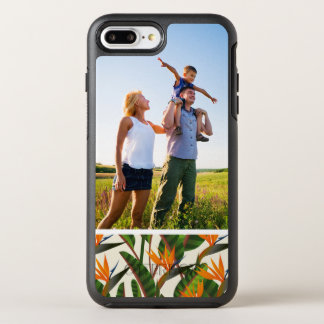 Photo Bird Of Paradise Flower Pattern OtterBox Symmetry iPhone 7 Plus Case