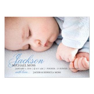 Photo Birth Announcement | Name Photo