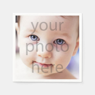 Photo Birthday Paper Napkin