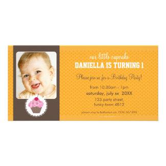 PHOTO BIRTHDAY PARTY INVITE :: cupcake 2L