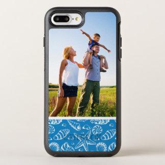 Photo Blue Beach Pattern OtterBox Symmetry iPhone 7 Plus Case