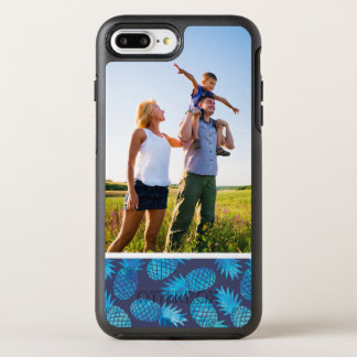 Photo Blue Tie Dye Pineapples OtterBox Symmetry iPhone 7 Plus Case