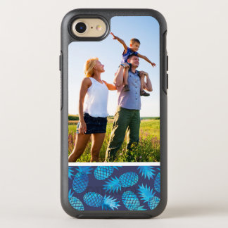 Photo Blue Tie Dye Pineapples OtterBox Symmetry iPhone 8/7 Case