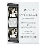 Photo Booth Save The Date 11 Cm X 14 Cm Invitation Card
