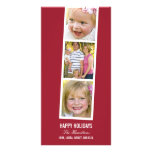 Photo Booth Style Holiday Photo Card