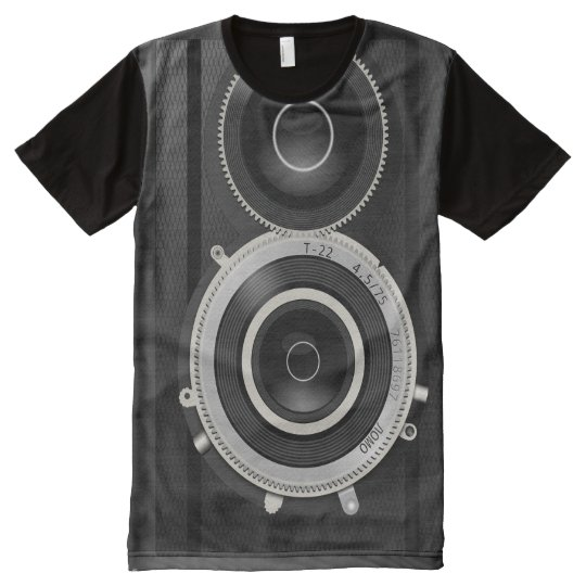 PHOTO CAMERA All-Over PRINT T-Shirt