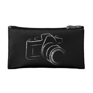 Photo Camera Cosmetic Bag