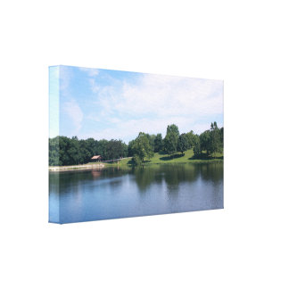 """Photo Canvas Print """"By the Lake"""""""
