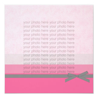 Photo Card Birth Announcements for a Baby Girl