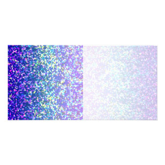 Photo Card Glitter Graphic Background