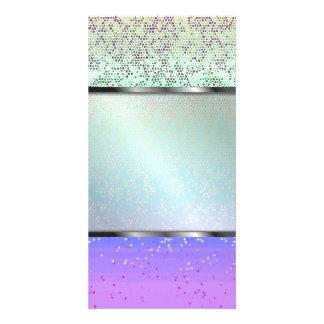 Photo Card Glitter Star Dust