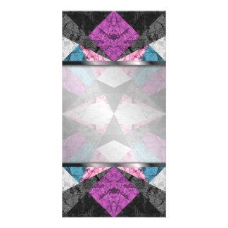 Photo Card Marble Geometric Background G438