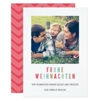 Photo Christmas card