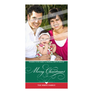 PHOTO CHRISTMAS CARD :: lovely type 2 Photo Card