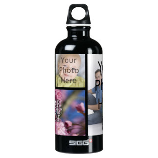 Photo Collage Custom Digital Picture SIGG Traveller 0.6L Water Bottle