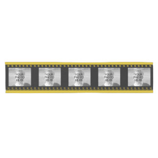 Photo Collage Film Strip Movie Reel Short Table Runner