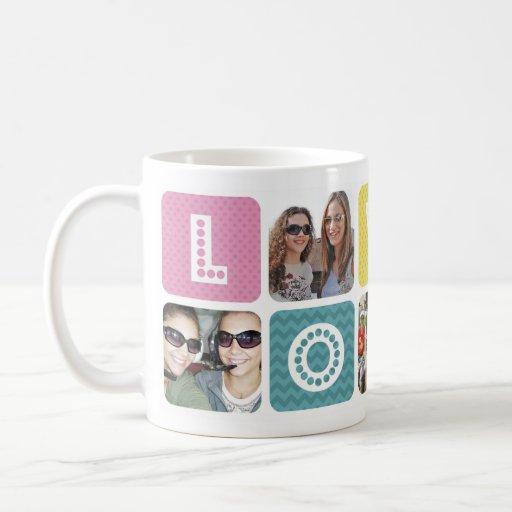 Photo Collage Multicolor Coffee Mugs