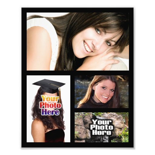 Photo Collage Print, Four Pictures 8x10 or Other..