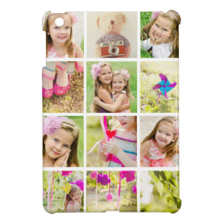 Photo Collage Template Personalized Cover For The iPad Mini