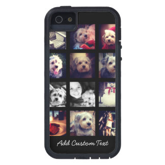 Photo Collage with Black Background Case For The iPhone 5