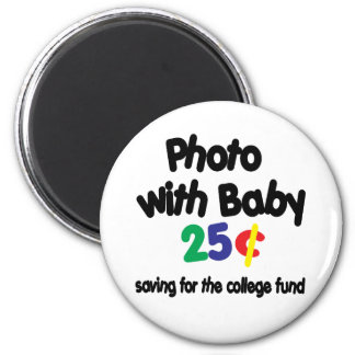 Photo College Fund Fridge Magnet