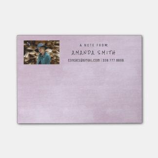 Photo Corporate Pastel Lila Purple Chalkboard Post-it® Notes