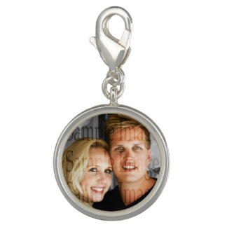Photo couples anniversary engagement PERSONALIZE Bracelets