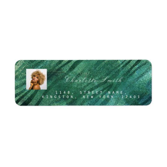 Photo Custom Cali Tropical Green RSVP