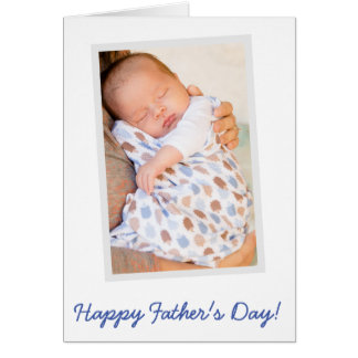 PHOTO Custom Happy Fathers Day Cards