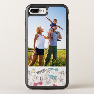 Photo Cute Summer Abstract Pattern OtterBox Symmetry iPhone 8 Plus/7 Plus Case