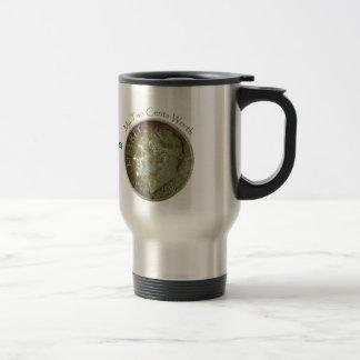 Photo Dime. Stainless Steel Travel Mug
