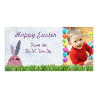 Photo easter card custom photo card