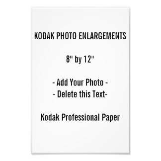 """Photo Enlargement 8"""" by 12"""""""