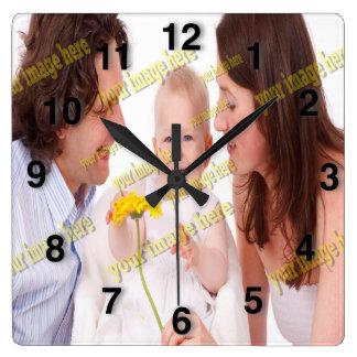 Photo Family Budget Template Clocks