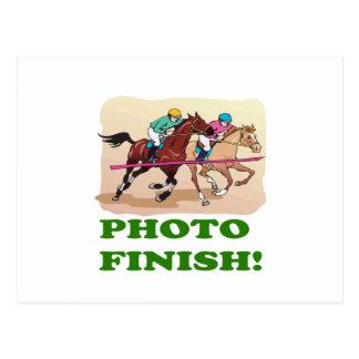Photo Finish Postcard