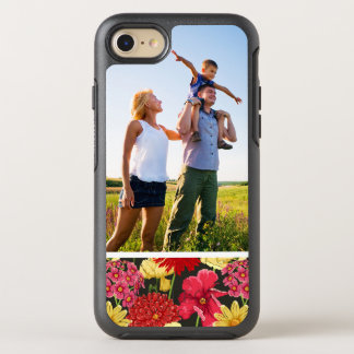 Photo Floral wallpaper in watercolor style OtterBox Symmetry iPhone 8/7 Case
