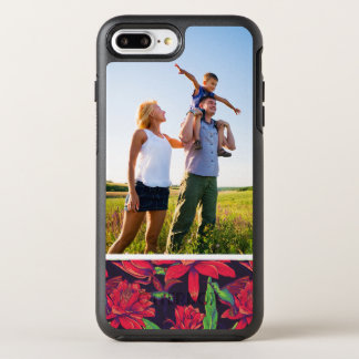 Photo Flowers And Hummingbirds OtterBox Symmetry iPhone 7 Plus Case