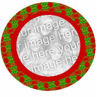 Photo Frame Christmas Ornament - Customized Photo Sculpture Decoration