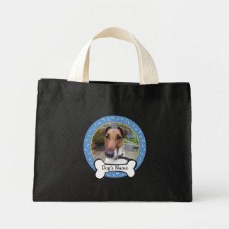Photo Frame Dog's Name Bag