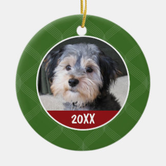 Photo Frame - Pet Baby Kid or Other - SINGLE-SIDED Christmas Ornament