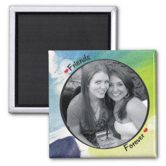 Photo Frame Square Magnet