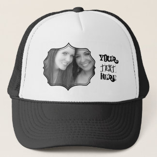 Photo Frame Trucker Hat