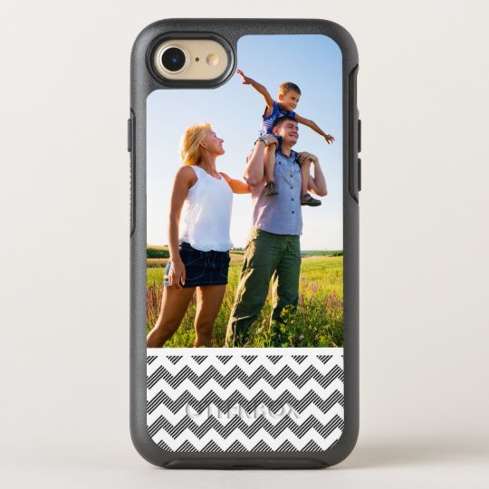 Photo Geometric zigzag pattern OtterBox Symmetry iPhone 8/7 Case