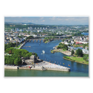 Photo German hit a corner in Koblenz