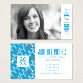 Photo Graduation | Fish Business Card