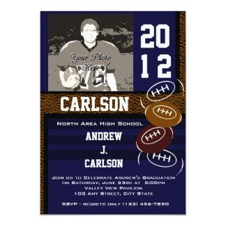 Photo Graduation/ Football Card