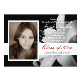 Photo Graduation Invitation Cards